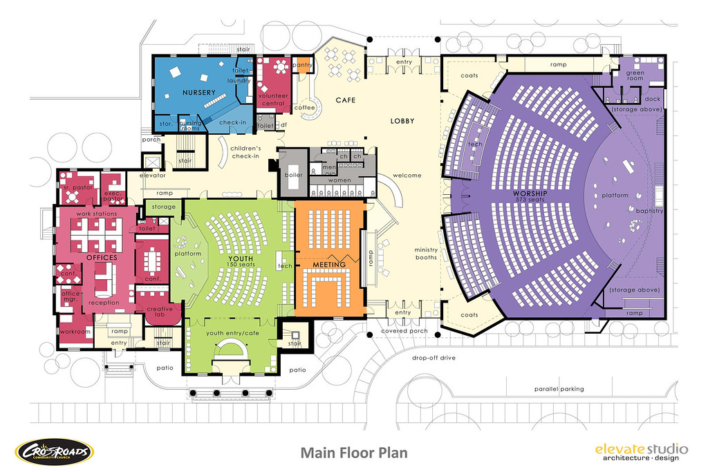the building - Church Building Design Ideas